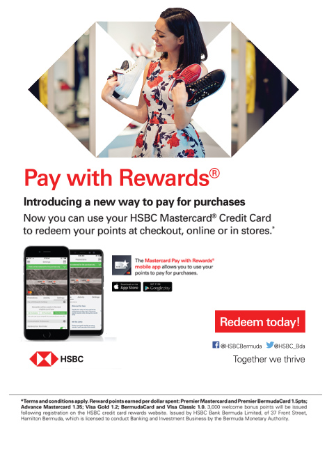 pay with rewards - HSBC Rewards July 2018